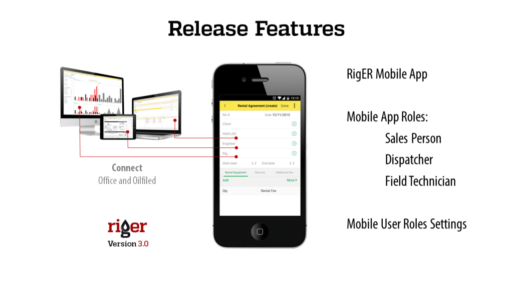 Riger Mobile Ios And Android App For Oilfield Rentals