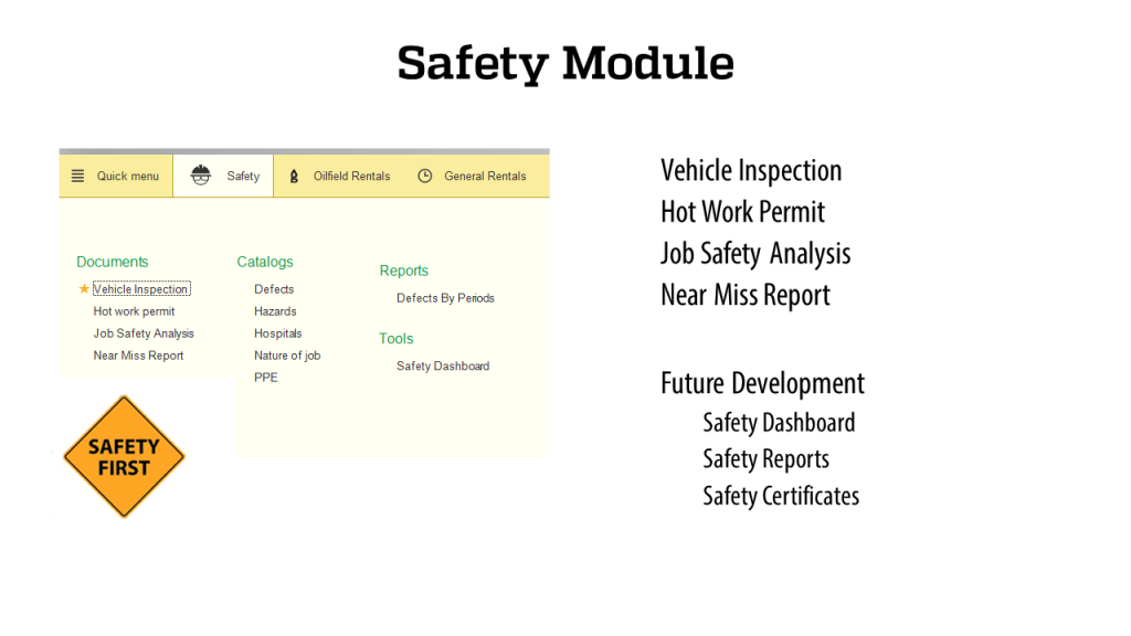 Safety Module - RigER - Oilfield