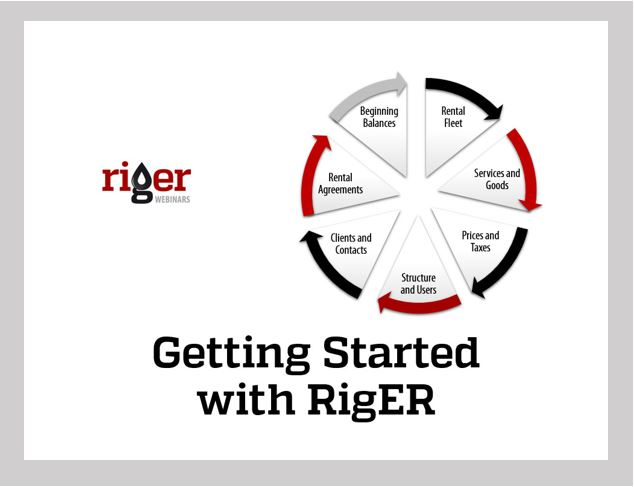 Getting Started with RigER